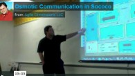 Spatial Osmotic Communication